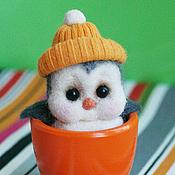 Куклы и игрушки ручной работы. Ярмарка Мастеров - ручная работа Пингвинёнок Эдвард. Handmade.