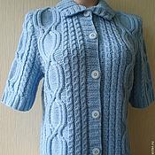 """Одежда ручной работы. Ярмарка Мастеров - ручная работа Кофта """"Голубое облако"""". Handmade."""