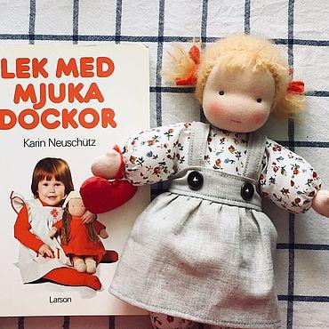 Куклы и игрушки ручной работы. Ярмарка Мастеров - ручная работа Вальдорфская кукла-малышка. Handmade.