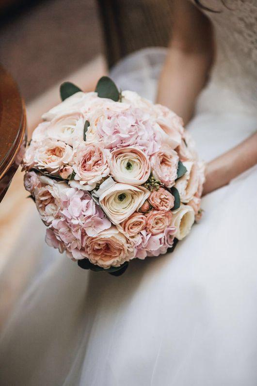 """Букеты ручной работы. Ярмарка Мастеров - ручная работа. Купить Букет невесты """"Love story"""". Handmade. Букет невесты, гортензия"""
