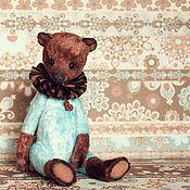 """Куклы и игрушки ручной работы. Ярмарка Мастеров - ручная работа Мишка """"Бирюза и Шоколад"""". Handmade."""