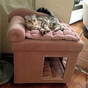 Для домашних животных, handmade. Livemaster - original item House for dogs and cats to order on request.. Handmade.
