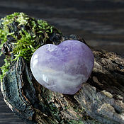 Материалы для творчества handmade. Livemaster - original item Heart amethyst