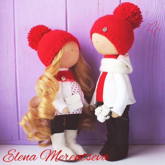 Куклы тыквоголовки ручной работы. Ярмарка Мастеров - ручная работа. Купить Интерьерные куколки. Handmade. Кукла ручной работы