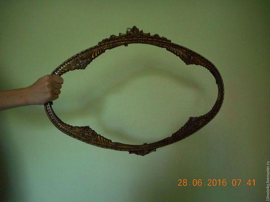 Реставрация. Ярмарка Мастеров - ручная работа. Купить Рама для зеркала и др.. Handmade. Рама, металл