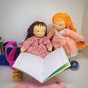 Куклы и игрушки manualidades. Livemaster - hecho a mano First-grader`s doll. Handmade.