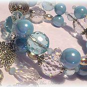 Украшения handmade. Livemaster - original item Spring drops bracelet. Handmade.