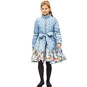"Пальто ручной работы. Ярмарка Мастеров - ручная работа Пальто ""Бабочки"". Handmade."