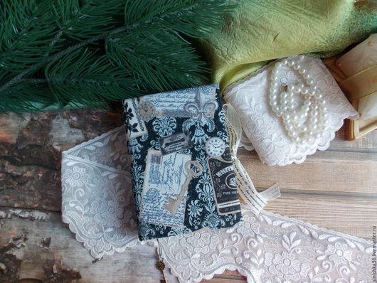 """Блокноты ручной работы. Ярмарка Мастеров - ручная работа. Купить Блокнотик """"Винтажный"""". Handmade. Комбинированный, блокнот, блокнот с нуля, блокноты"""