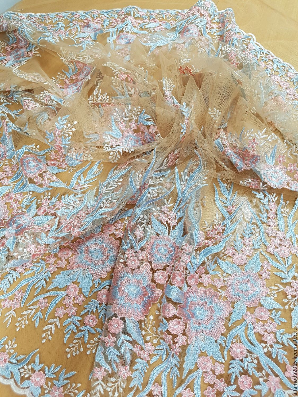 Итальянская вышивка цветов