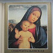 Винтаж handmade. Livemaster - original item North Italian painting of the XV century, 1984. Handmade.