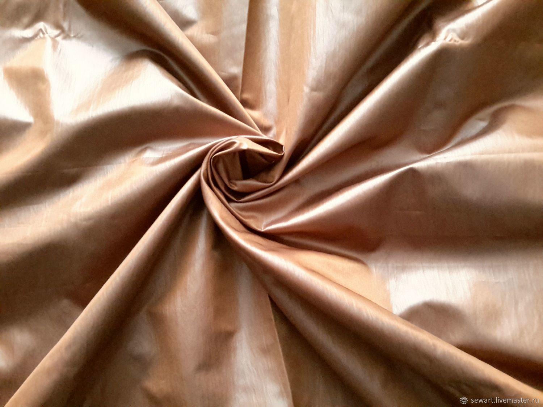 Плащевая ткань горчичного цвета для плащей, тренчей, Ткани, Курск,  Фото №1
