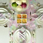 Для дома и интерьера handmade. Livemaster - original item Track on the Table and 10 Napkins, Serving Set, Floral Print. Handmade.
