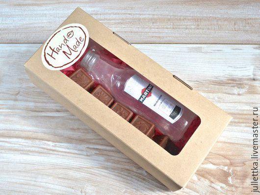 """Мыло ручной работы. Ярмарка Мастеров - ручная работа. Купить Набор мыла """"Мартини со сладостями"""" в коробочке. Handmade. Мыло"""