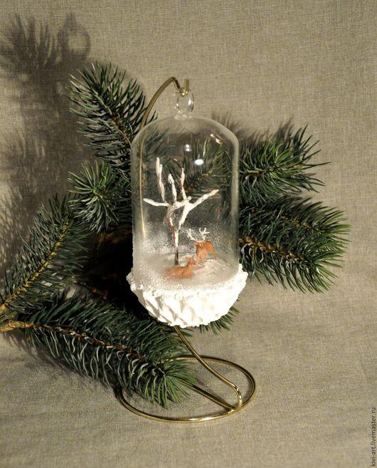 Праздничное интерьерное украшение-миниатюра. Кисель Вероника