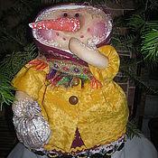Подарки к праздникам ручной работы. Ярмарка Мастеров - ручная работа Кукла Марфушка-Снеговушка. Handmade.