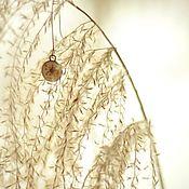 Украшения ручной работы. Ярмарка Мастеров - ручная работа Серьги из эпоксидный смолы с зонтиками укропа. Handmade.