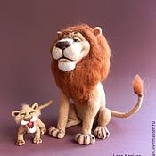 Куклы и игрушки ручной работы. Ярмарка Мастеров - ручная работа Король Лев. Handmade.