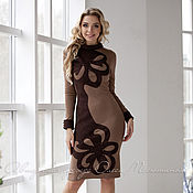 """Одежда ручной работы. Ярмарка Мастеров - ручная работа Платье """"Художница brown"""". Handmade."""