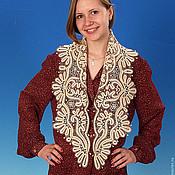 Для дома и интерьера handmade. Livemaster - original item KONIK scarf vyatskoe Vologda lace. Handmade.