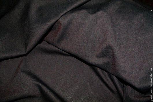 """Шитье ручной работы. Ярмарка Мастеров - ручная работа. Купить Кашемир-стрейч """"холодная шерсть"""" черно-бордовый. Super 180's. Handmade."""