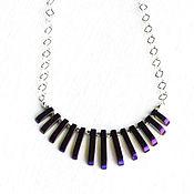 Украшения handmade. Livemaster - original item Necklace with hematite