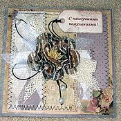 Открытки ручной работы. Ярмарка Мастеров - ручная работа Открытка для элегантной дамы. Handmade.