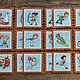 """Развивающие игрушки ручной работы. Заказать """"Спорт"""" - парные карточки из фетра для развития памяти. 'Маленький Умка' (Юлия). Ярмарка Мастеров."""