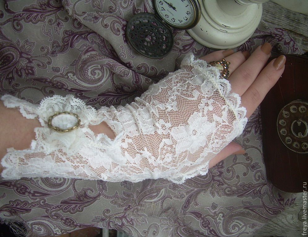 Кружевные перчатки своими руками фото 926