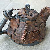 """Посуда ручной работы. Ярмарка Мастеров - ручная работа Чайник """"Кочевник"""". Handmade."""