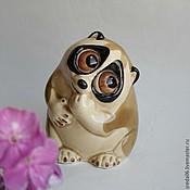 Для дома и интерьера handmade. Livemaster - original item Porcelain lemur statuette. Handmade.
