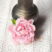 """Украшения ручной работы. Ярмарка Мастеров - ручная работа Брошь """"Розовый пион"""". Handmade."""