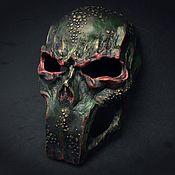 Субкультуры handmade. Livemaster - original item Reptilian Mask. Handmade.