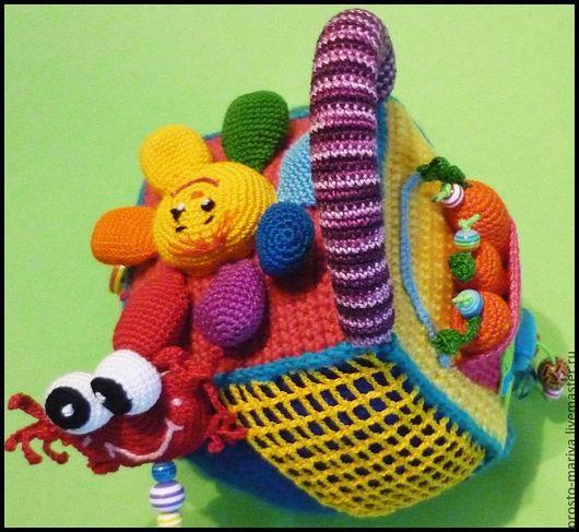 Развивающие игрушки ручной работы. Ярмарка Мастеров - ручная работа. Купить .Кубик-развивашка,№1. Handmade. Развивающая игрушка, развивашка