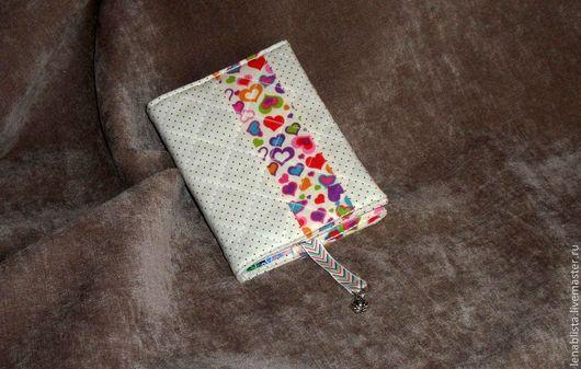 Блокноты ручной работы. Ярмарка Мастеров - ручная работа. Купить Блокнот с текстильной обложкой. Handmade. Бежевый, корейский хлопок