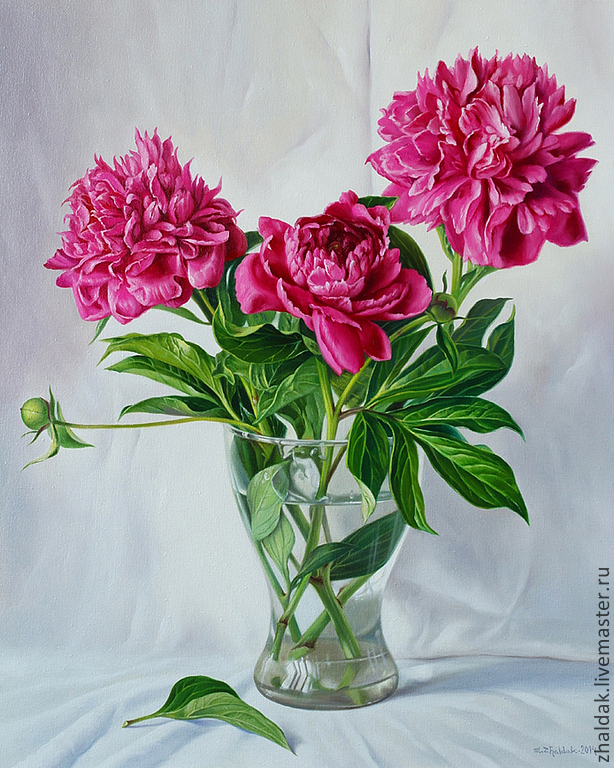 Flower Painting Handmade. Livemaster   Handmade. Buy The Painting U0027peonies U0027.Oil