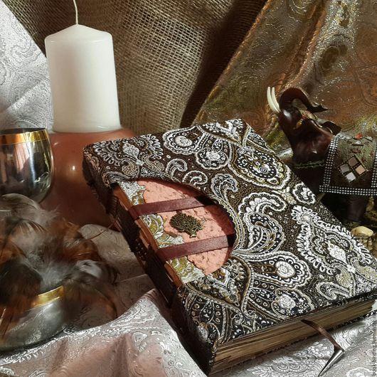 """Блокноты ручной работы. Ярмарка Мастеров - ручная работа. Купить Блокнот """"Ритуальная книга"""". Handmade. Комбинированный, блокноты, магия, парча"""