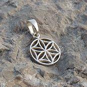 Русский стиль handmade. Livemaster - original item Amulet Thunder wheel, Flower of Life, Seed of Life. Handmade.