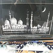 Картины и панно ручной работы. Ярмарка Мастеров - ручная работа Мечеть шейха Заида. Handmade.