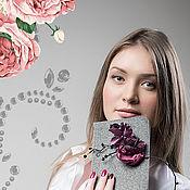 Сумки и аксессуары ручной работы. Ярмарка Мастеров - ручная работа Клатч с розами. Handmade.