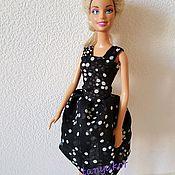 Одежда для кукол ручной работы. Ярмарка Мастеров - ручная работа Платье для Барби. Handmade.