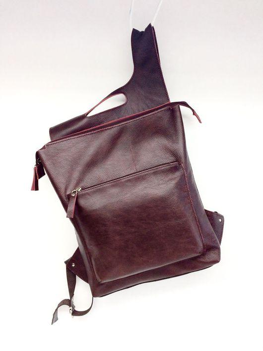 Рюкзаки ручной работы. Ярмарка Мастеров - ручная работа. Купить Рюкзак из натуральной кожи Backpack#2. Handmade. Рюкзак, городской рюкзак