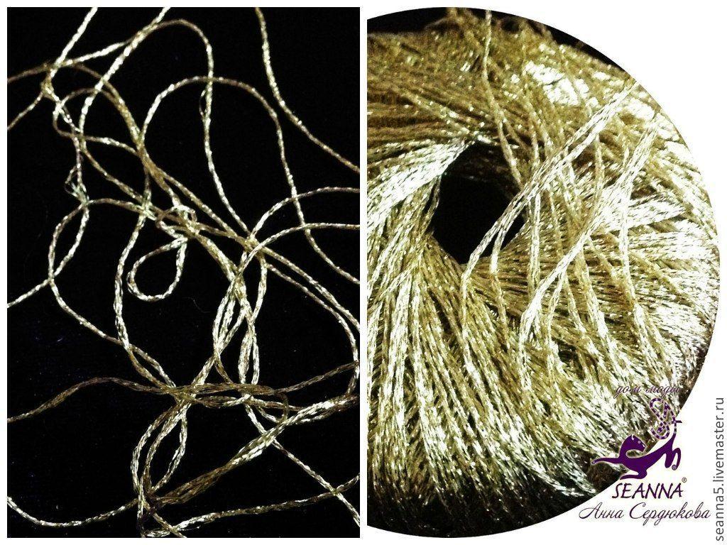 Вязание золотыми нитками 99