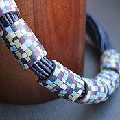 Украшения handmade. Livemaster - original item Necklace mosaic