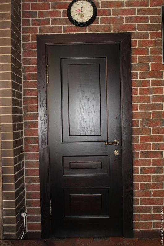 Мебель ручной работы. Ярмарка Мастеров - ручная работа. Купить дверь. Handmade. Дверь, дубовая дверь, двери деревянные, гостинная