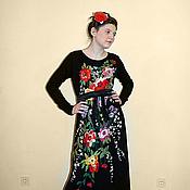"""Одежда ручной работы. Ярмарка Мастеров - ручная работа Платье нарядное с вышивкой """"Розы для любезницы"""". Handmade."""