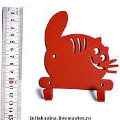"""Для дома и интерьера ручной работы. Ярмарка Мастеров - ручная работа крючок """"кот"""". Handmade."""