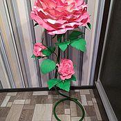 Цветы и флористика handmade. Livemaster - original item Soft toy. knitted panda. Handmade.