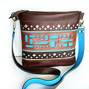 Сумки и аксессуары handmade. Livemaster - original item Bag-tablet: Handbag made of genuine leather,