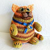 Куклы и игрушки ручной работы. Ярмарка Мастеров - ручная работа Кот Рыжик,трёхцветный, подарок на удачу, подарок ребёнку. Handmade.